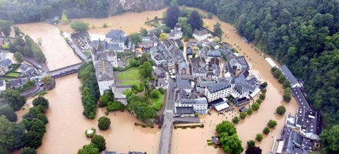 Overstromingen in Durbuy