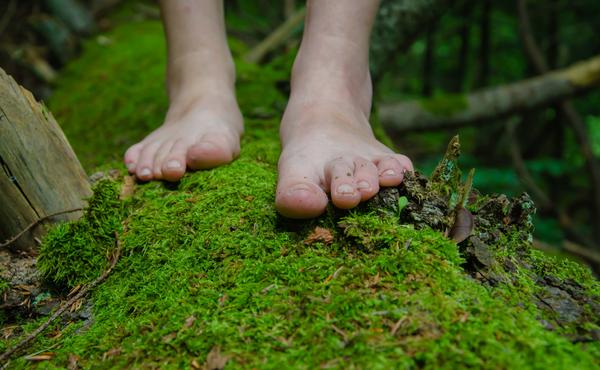 Florachallenge #2: Stap eens rond in de natuur op je blote voeten