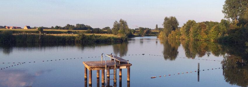Vosselare Put, een unieke zwemlocatie in openlucht