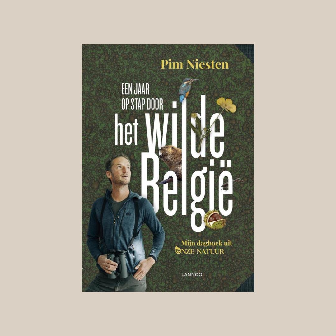 Cover 'Een jaar op stap door het wilde België'