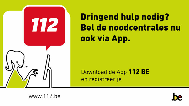 112 BE app